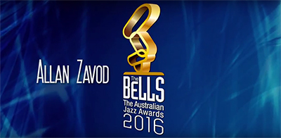 Live at Australian Jazz Bell Awards: Dr. Allan Zavod special guest performer - click to see an enlarged version of this image