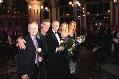 Allan Zavod, David Lewis, Joe Ierardi, Julie Reveley, Robin Arrigo - at 'Julie and Friends' Palm Beach Centennial Benefit Concert - click to see an enlarged version of this image