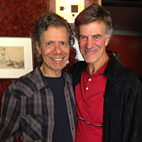 Allan Zavod and Chick Corea - click to see an enlarged version of this image