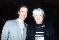 Allan Zavod with Swimming Legend Dawn Fraser - click to see an enlarged version of this image