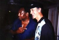 Allan Zavod and George Benson in Hawaii - click to see an enlarged version of this image