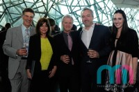 Allan Zavod, Jenny Morris, Chris Neal, Braedy Neal and Elizabeth Neal at the 2012 Screen Awards - click to see an enlarged version of this image
