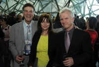 Allan Zavod, Jenny Morris and Chris Neal at the 2012 APRA|AMCOS Screen Music Awards - click to see an enlarged version of this image