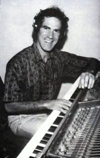 Allan at Keyboards - lifestyle ad - click to see an enlarged version of this image