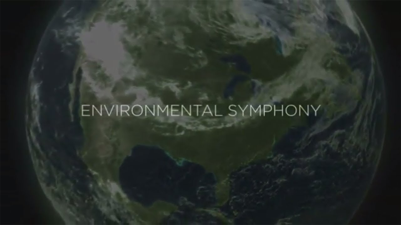 ABC re-recording Environmental Symphony - click to see an enlarged version of this image