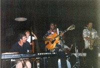 Allan Zavod with George Benson jamming in Hawaii 2001 - click to see an enlarged version of this image