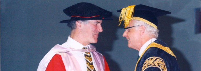 Allan Zavod awarded the degree of Doctor of Music.  He is one of only 4 recipients in the 150 year history of the University of Melbourne to receive the Degree of Doctor of Music as an earned doctorate for his symphonic composition.
