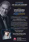 Jazz-Zavod Cabaret - Live at Marque: Zavod's trio with special guests Fem Belling & special guest on Trumpet - 'Satchmo-the World of Louis Armstrong' - click to see an enlarged version of this image