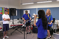 Music Masterclass at Broome Senior High School - click to see an enlarged version of this image