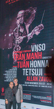 Special Concert With Saxophonist Tran Manh Tuan - click to see an enlarged version of this image