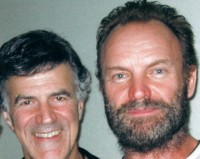 Allan Zavod and Sting on 'Songs From The Labyrinth' 2008 Australian Tour - click to see an enlarged version of this image