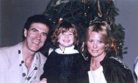 Dr. Allan Zavod at Christmas with wife Christine, and son Zak - click to see an enlarged version of this image
