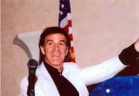 Dr. Allan Zavod after performance in Palm Beach, Florida - click to see an enlarged version of this image