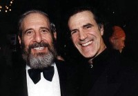 Allan Zavod with Chaim Topol - click to see an enlarged version of this image
