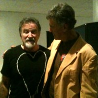 Allan with Robin Williams - click to see an enlarged version of this image